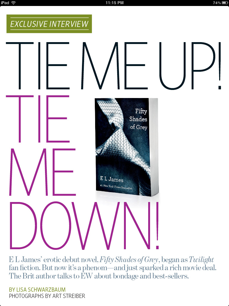 codenametash:  Tie Me Up, Tie Me Down–Fifty Shades EW Article