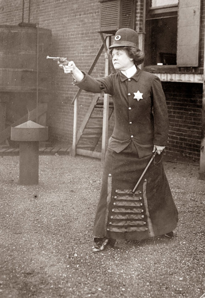 Early 1920s Police woman