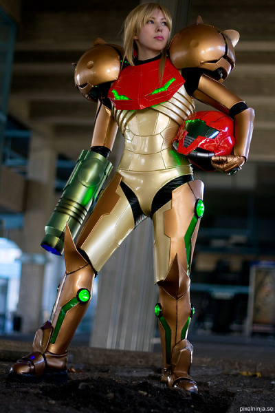 Metroid Varia Suit 2 by ~pixel-ninja