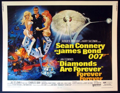 The 365 Films ChallengeDay 34 - Diamonds Are Forever (1971)Rating - 4 out of 5 stars This movie is so good. Grade A classic 70's film.