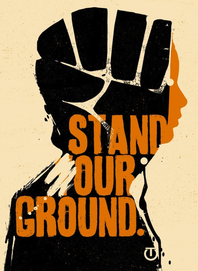 18-15n-77-30w:  vandalog:  Stand Our Ground. Graphic by TesOne  18° 15' N, 77° 30' W