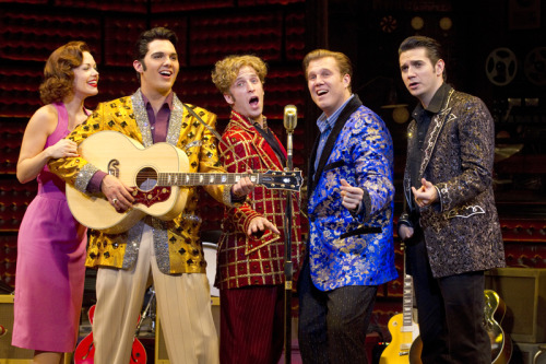 Million Dollar Quartet (now playing at the State Theatre) isn't your run-of-the-mill revue. Granted, it doesn't have much of a book, but, by the time the evening's over you don't mind. At all. Review by Dwight Hobbes