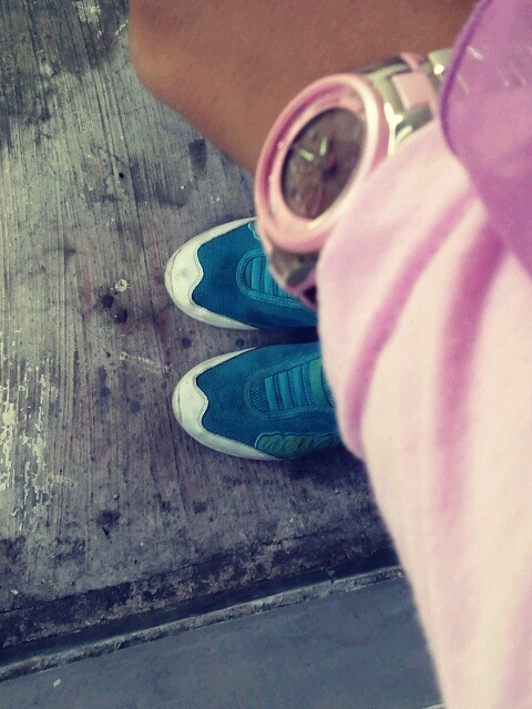 Simple things of me. Pink blue.. Good combination I think..:)