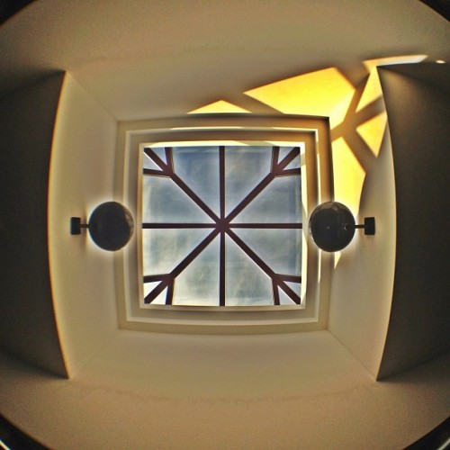 #lookingup taken in February. #fisheye (Taken with instagram)