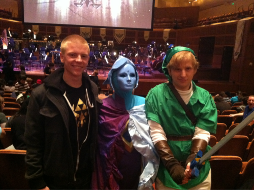 This is my new profile picture. The costumes people were in were incredible!!!