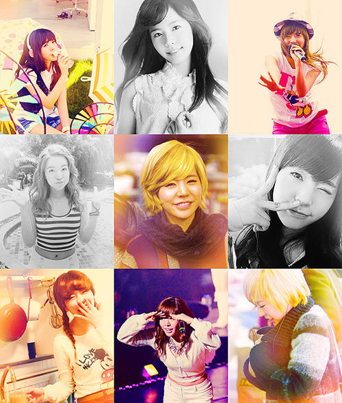 """For me, each one of our SNSD members is like my body. If one gets hurt or hears bad things from someone else, it hurts me even more. It's impossible for only good things to happen to someone and so there were difficult times and hurtful times. But during those times, I'm so thankful that we were each others strength and support."""