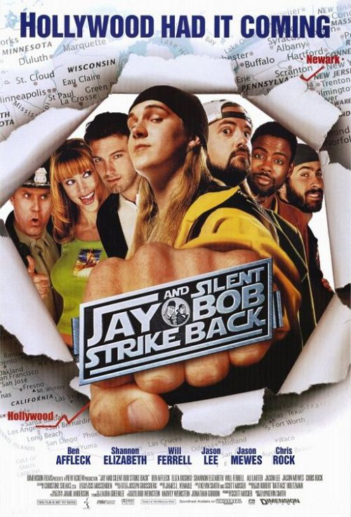 The 365 Films ChallengeDay 36 - Jay and Silent Bob Strike BackRating - 3.2 out of 5 stars Fun movie, I love Jay and Silent Bob.