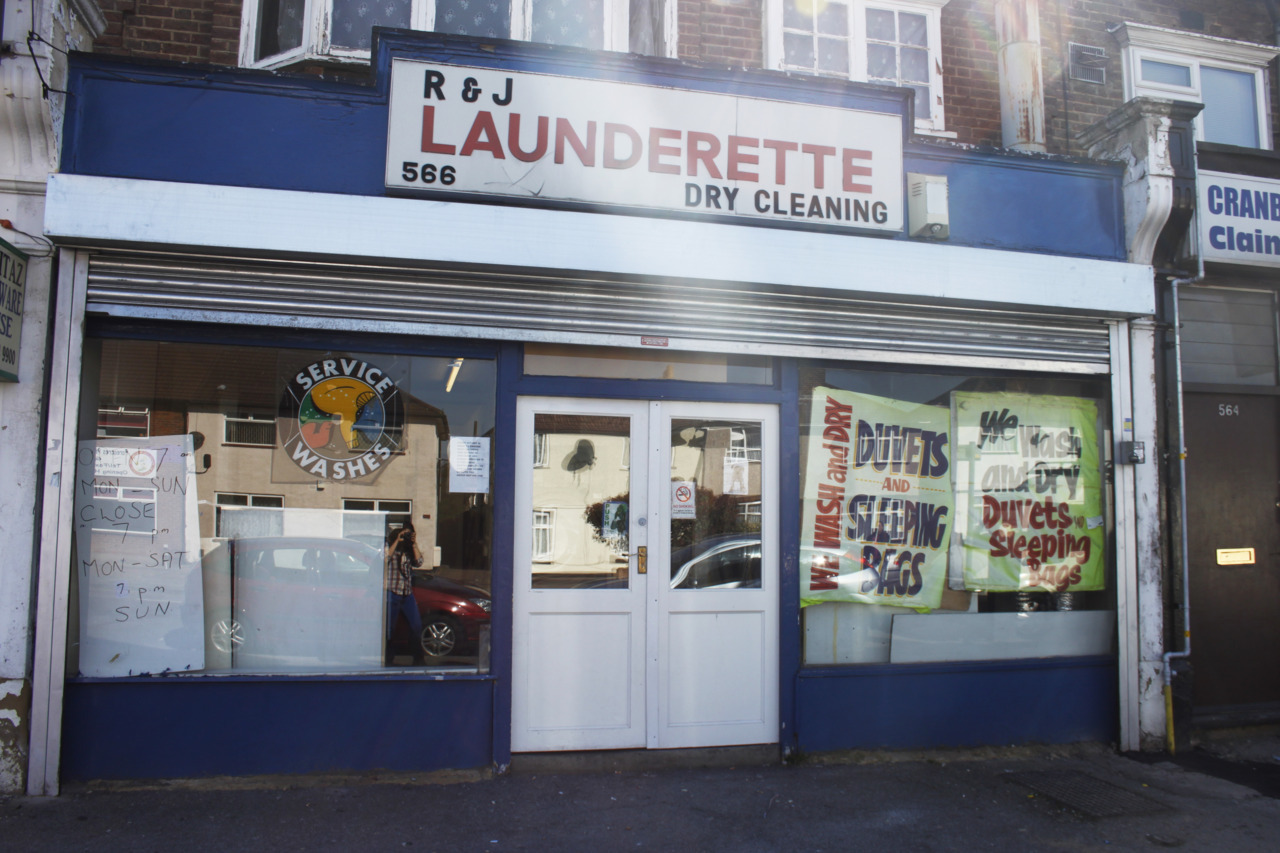 london LAUNDERETTE DRY CLEANING