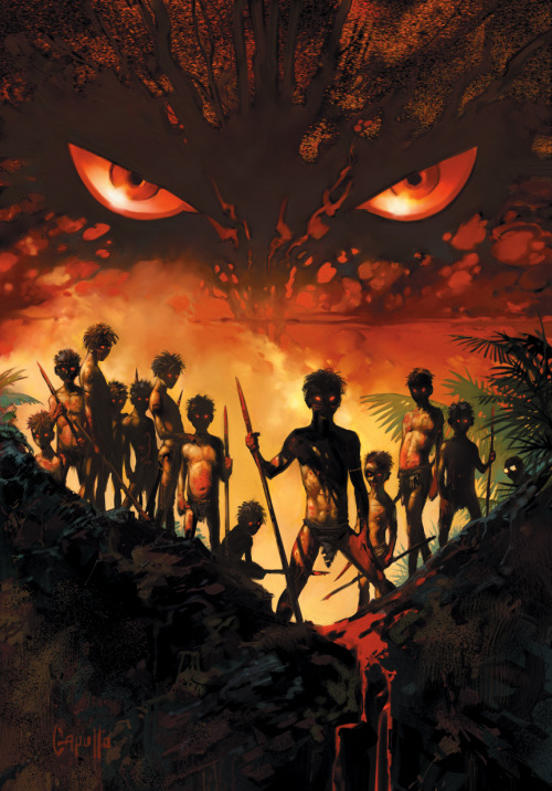 "Incredible Shit called ""Lord of the Flies"" by Greg Capullo (DeviantArt Gallery) (via the art of animation)"