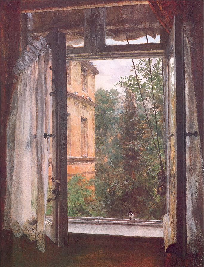 art-and-dream:  German Artist painter Adolph von Menzel 1815-1905