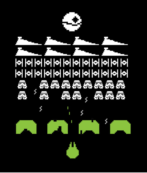 Star Wars Space Invaders by ~mattcantdraw
