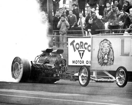 Freight Train Twin Engine Dragster