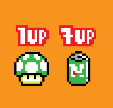 1UP+ by ~mattcantdraw