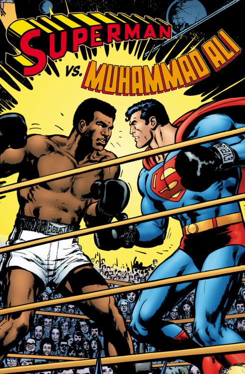 thefandomzone:  SUPERMAN VS. MUHAMMAD ALI by Neal Adams  This is one of my favorite comics.