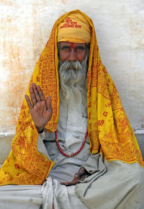denofopulence:  Holyman in Udaipur, India