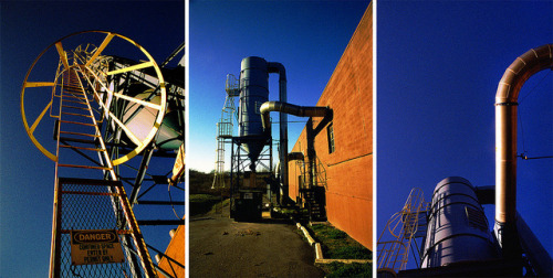 Nikkormat: Confined Triptych on Flickr.Via Flickr: Nikkormat FTN, Nikon 28mm f/2 AI, Fujichrome Velvia 100, cross processed, scanned as a positive and inverted in PS