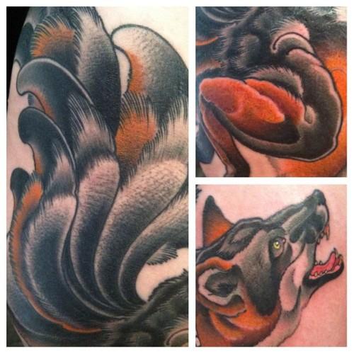 kitsune tattoo designs books and flash last sparrow tattoo. Black Bedroom Furniture Sets. Home Design Ideas