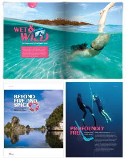 typography | articles titles for travel magazine