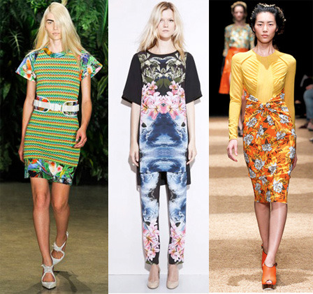 Our obsession with tropical prints continues.