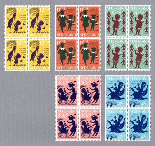 Dutch stamps. 1963