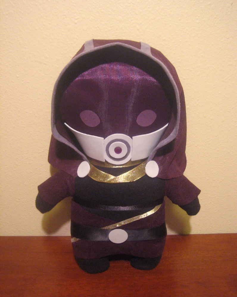 fuckyeahtalizorah:  sooo… i made this tali plush last weekend. :D —- submitted by cristinarican