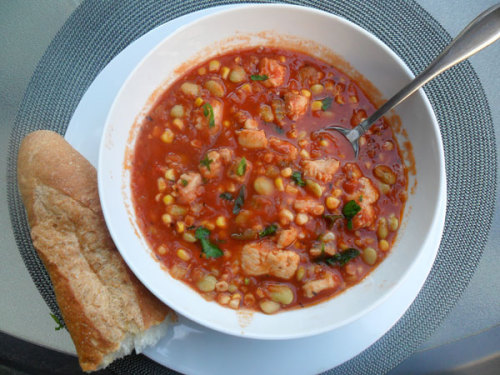 Lunch Idea: Creole Catfish Stew Enjoy this hearty but not too heavy stew from yesterday's recipe newsletter
