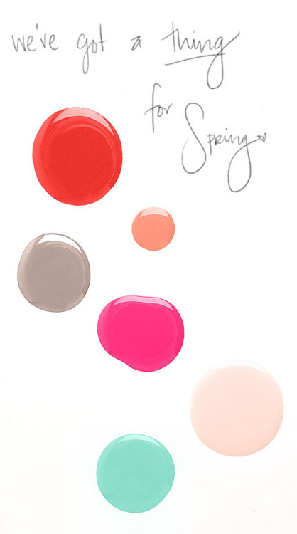 "The Beauty Department has ""A thing for Spring"""