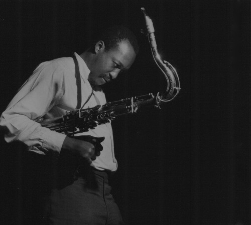 Hank Mobley during his The Turnaround! session, Englewood Cliffs NJ, March 7 1963 (photo by Francis Wolff)