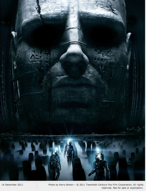 radarcommunication:  looking forward to this: Prometheus, directed by  Ridley Scott