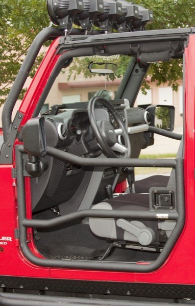 Front Tube Doors, Textured Black, 07-12 Jeep JK Wranglers, by Rugged Ridge Get into the Spring of things with some tube doors $281.88 from EastCoastJeeps.com
