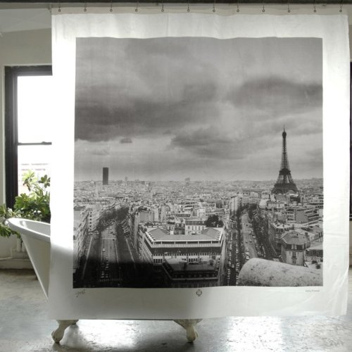dirtyprettything:  (via Fancy - Paris Shower Curtain)
