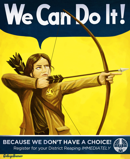 Hunger Games PSAs [click for more]