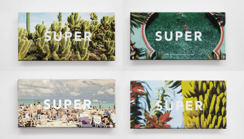 bitsbobsandbeats:  Rad packaging / cases for the the new SUPER sunglasses range. The same prints are on the inside of the frames. Cool, nê? Paloma Cactus, please!