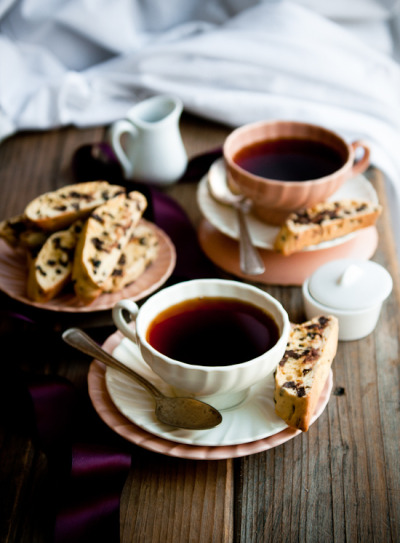 neekaisweird:  biscottea (by stephsus)  tea and cookies would be a perfect breakfast on this grey april morning.