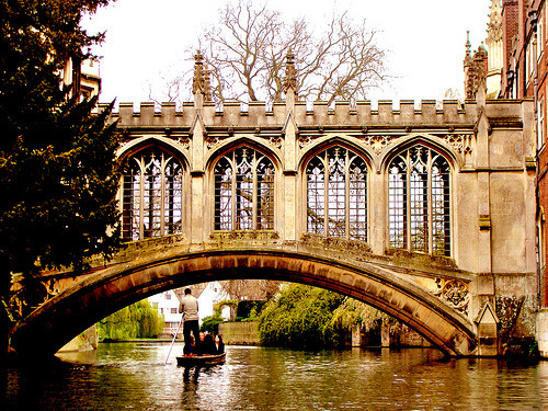 allthingseurope:  Bridge of Sighs - Cambridge (by Gaurav Pradhan)