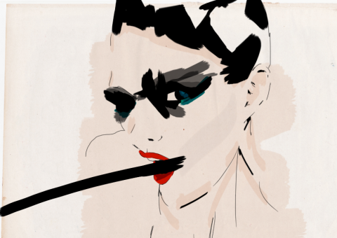 current obsession: tom ford sketches