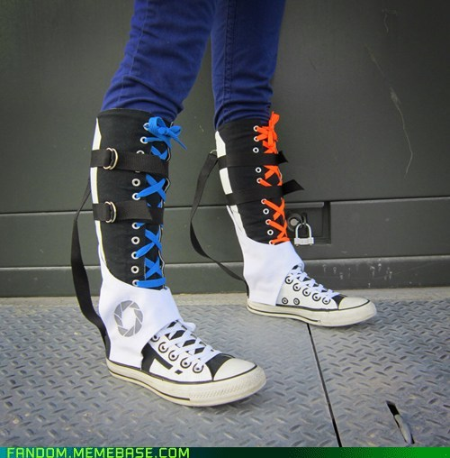 francesque:  OMGZ. Converse Chell shoes from Portal.