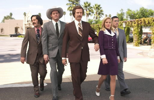 nparts:  Anchorman 2 is happening! Will Ferrell appeared on Conan to announce that the Anchorman sequel has been greenlit … but will it be a musical?