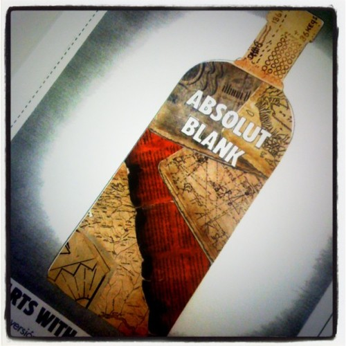 #absolut #vodka #drink #bottle #design #maps #antique #old #browns #ink  (Taken with instagram)
