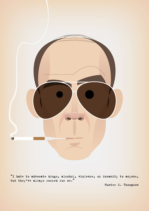 Hunter S. Thompson @thisisnthappiness.com