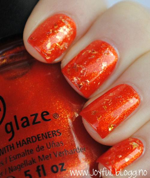 China glaze - Riveting + China glaze - Luxe and lush