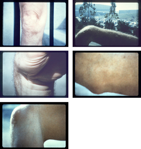 Charles Atlas, stills from Joints, 1971. Courtesy of Vilma Gold.