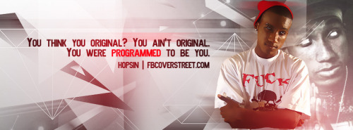 Hopsin You're Programmed Facebook Cover