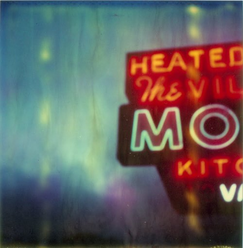 The Village Motel Blue