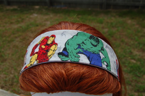 I just added a new batch of Marvel Comics hair accessories to my Etsy shop!
