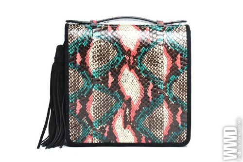 womensweardaily:  Fall 2012 Accessories: Paris Dries Van Noten RTW Fall 2012