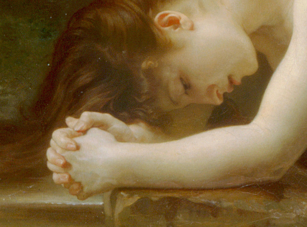 WILLIAM-ADOLPHE BOUGUEREAU - Biblis (detail) (1884)