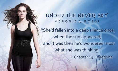Fall in love with UNDER THE NEVER SKY, an epic romance with a thrilling heart! Read an excerpt here: http://www.facebook.com/undertheneverskyseries
