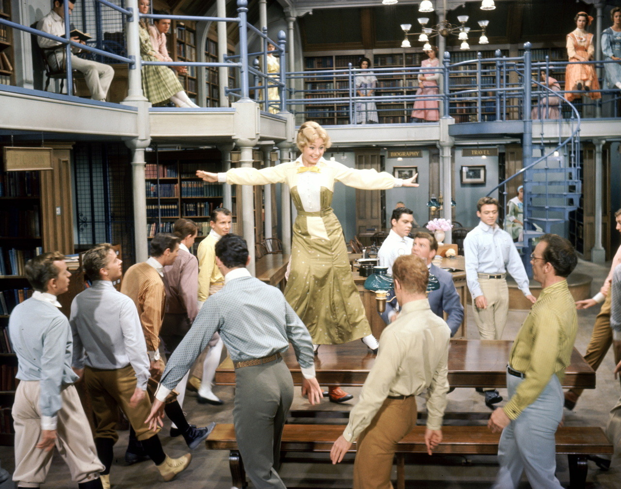classicperioddramas:  The Music Man (1962)