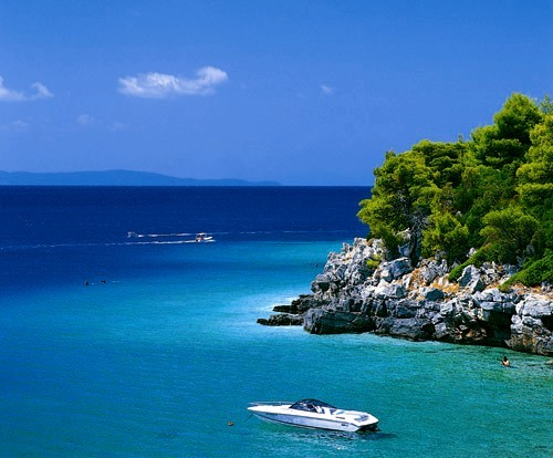 Skopelos, Greece.